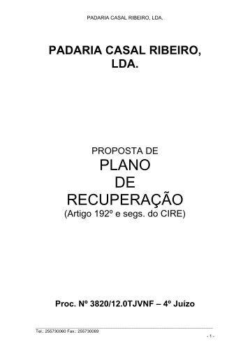 PROPOSTA DE - Nuno Oliveira da Silva