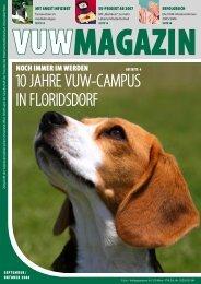 VUW Magazin - Katze & Du