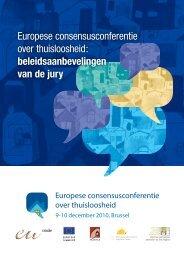 Europese consensusconferentie over thuisloosheid - European ...