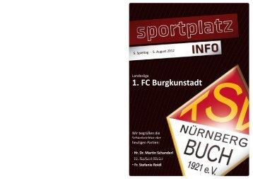 k d 1. FC Burgkunstadt - TSV Nürnberg-Buch 1921 eV