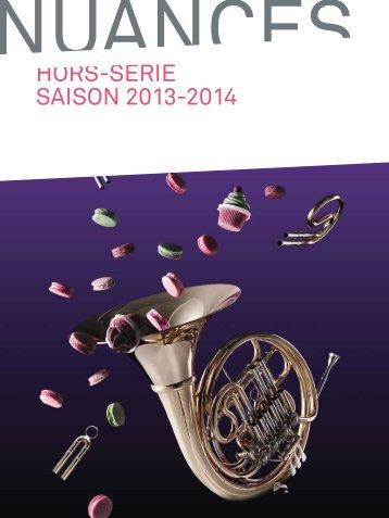 Téléchargez le NUANCES HORS-SERIE de la saison 2013 ... - HEMU