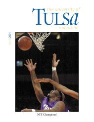 The University of Tulsa Magazine - TUAlumni.com