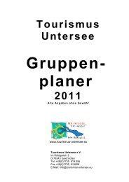 Gruppen - Tourismus Untersee e.V.