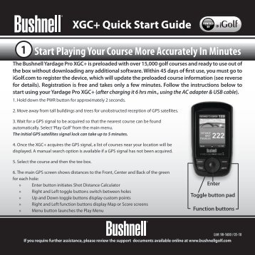 Quick Start Guide - GPS Central