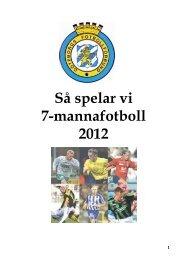 SÃ¥ spelar vi 7-manna fotboll - Spelarlyftet