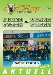 aktuell 1/2008 - TSV Forstenried