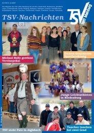 TSV-Nachrichten 3/2007 - des TSV 1861 Mainburg eV
