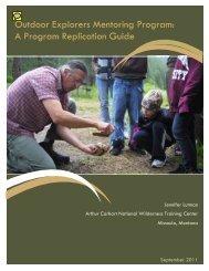 Replication Guide - Wilderness.net