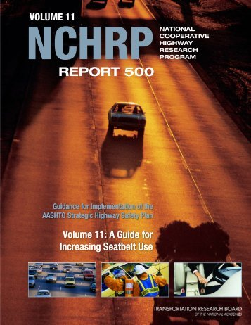 NCHRP Report 500 - Transportation Research Board