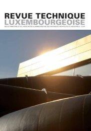pdf RT 01 | 2011 - Revue Technique Luxembourgeoise