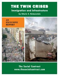 THE TWIN CRISES - The  Social Contract Press