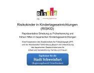 RISKID Stadt Schweinfurt.pptx - Arbeitsstelle Frühförderung Bayern