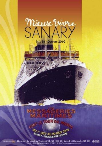 Mieux Vivre N°138 - Octobre 2010 (.pdf - 2,60 Mo) - Sanary-sur-Mer
