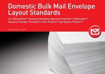 Envelope Layout Standards - New Zealand Post