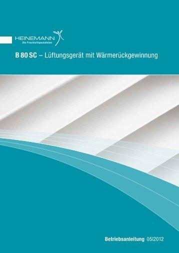 B 80 SC - Heinemann GmbH