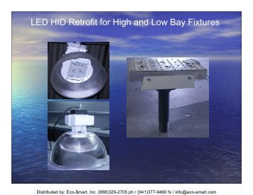 LED HID Retrofit for High and Low Bay Fixtures - ECO-$MART Home