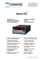 Serie PX - Elektro-Trading sp. z oo