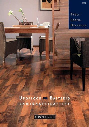 U POFLOOR – B ALTERIO LAMINAATTILATTIAT - Rakentaja.fi