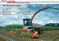 The 300 series header - Kemper GmbH & Co. KG