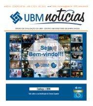 Janeiro e Fevereiro - 2012 - UBM