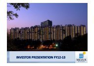 INVESTOR PRESENTATION FY12-13 - Brigade Group
