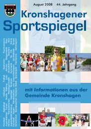 August - TSV Kronshagen