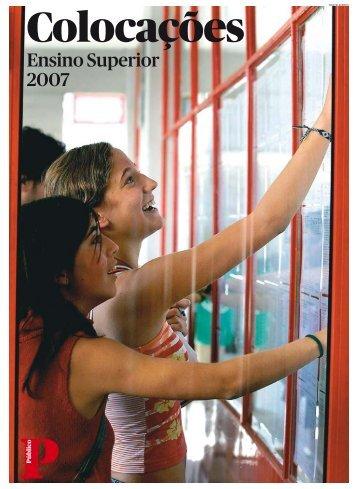 Ensino Superior 2007 - Público