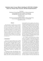 Simulation study of energy efficient scheduling for IEEE 802.15.4 ...