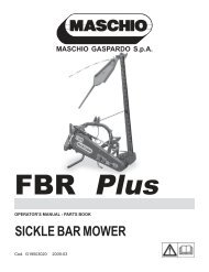 Istruzioni FBR Plus 2009-03 (G19503020) USA ... - JS Woodhouse