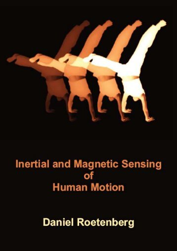 Inertial and Magnetic Sensing of Human Motion, PhD thesis - Xsens