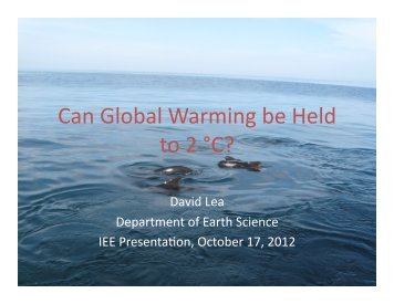 12-10 UCSB IEE Seminar.pptx - Institute for Energy Efficiency