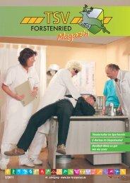 TSV Magazin - 2/2011 (PDF 3,9 MB - TSV Forstenried