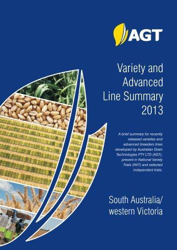 SA & western Victoria - Australian Grain Technologies