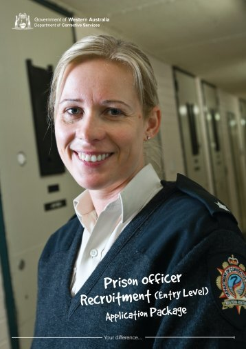 Prison Officer Recruitment - Department of Corrective Services