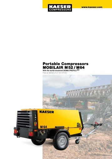 Portable Compressors MOBILAIR M 52 / M 64 - KAESER home