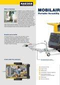 Portable Compressors MOBILAIR M 52 / M 64 - KAESER home - Page 2