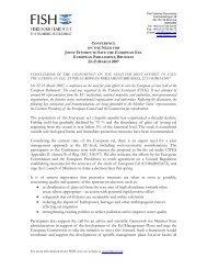 Verksamhetsberttelse 2003/2004 - Fisheries Secretariat