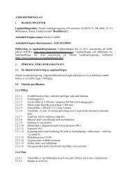 Anbudsförfrågan - Ålands landskapsregering