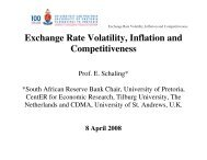 Exchange Rate Volatility, Inflation and Competitiveness - tips
