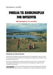 Last ned forslaget til handlingsplan (pdf) - Gran kommune