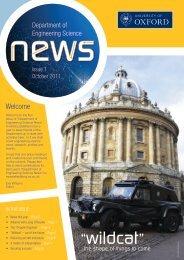 """wildcat "" - Department of Engineering Science - University of Oxford"