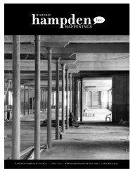 Historic Hampden Happenings — Sept 2012 - Mill No. 1