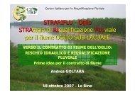 STRARIFLU - Oglio STRAtegia di RIqualificazione ... - Parco Oglio Sud