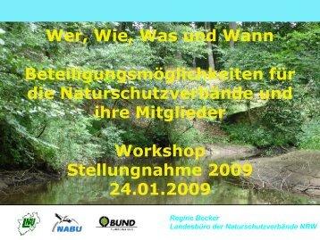 Einführung in die WRRL-Öffentlichkeitsbeteiligung - Wassernetz NRW