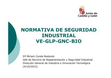 normativa de seguridad industrial ve-glp-gnc-bio - Feria de Valladolid