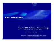 R14_Uljanik Pilot projekt Oracle ECM - HrOUG