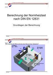 Berechnung der Normheizlast nach DIN EN 12831 pdf