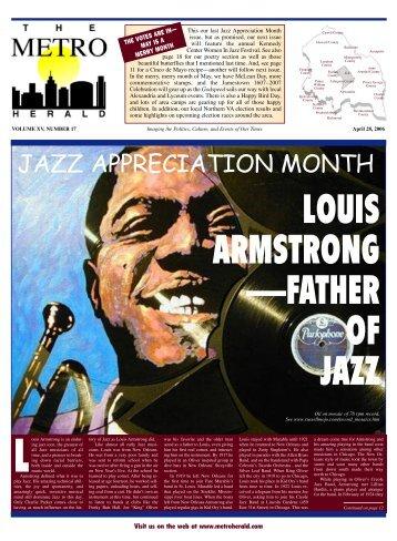 louis armstrong - The Metro Herald