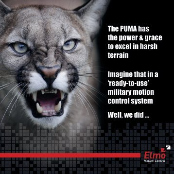 Puma Brochure - Elmo Motion Control