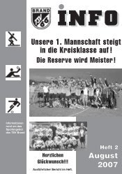 Heft 23 - TSV Brand